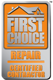 First Choice Repair Certified Contractor logo