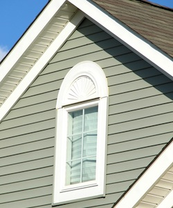 vinyl siding on a house