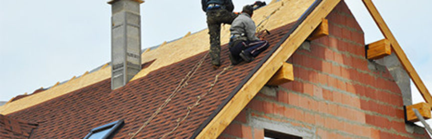 Roofers making repairs for the roof to keep it in good shape
