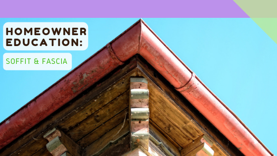 Homeowner Education: Soffit & Fascia